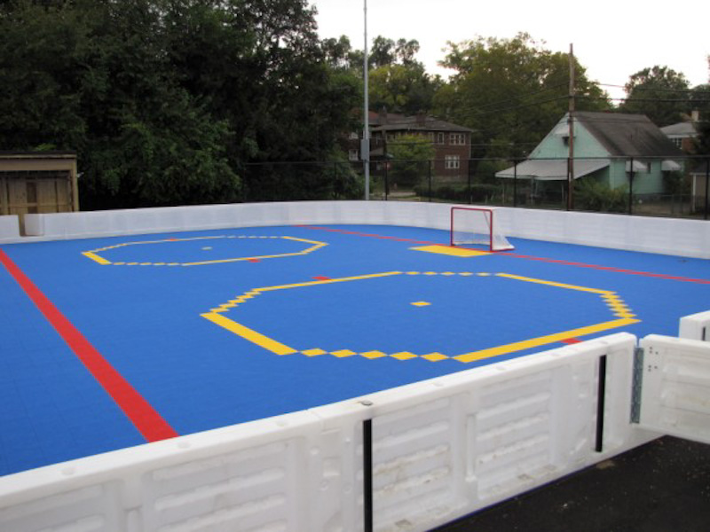 The Ice Rink Company » Outdoor Dasher Board Systems