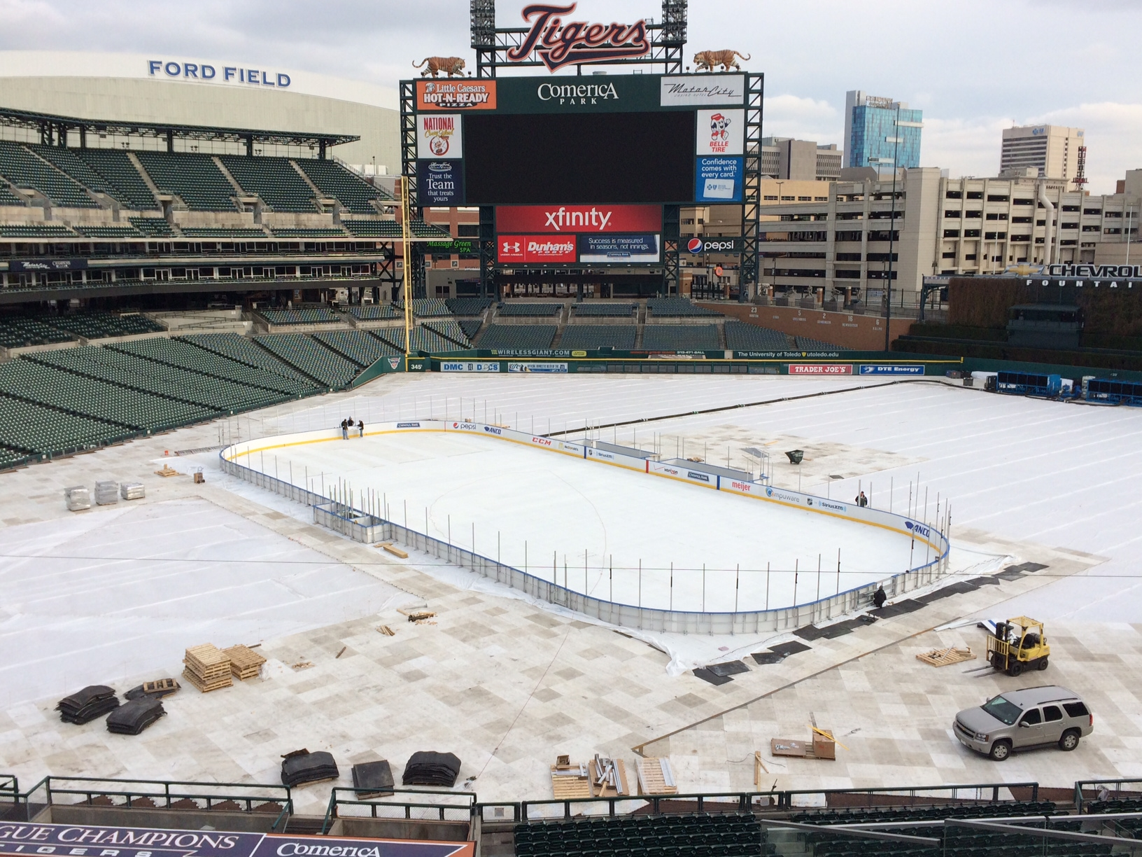 How To Build Ice Rink Boards